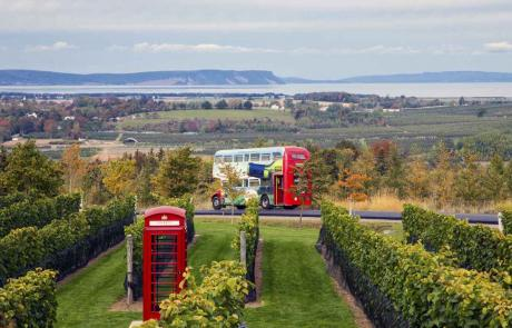 Wolfville Magic Winey Bus