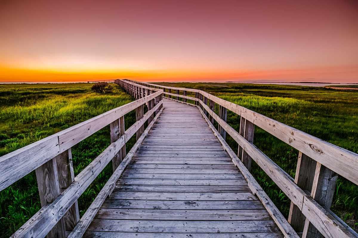 Rushtons Beach Boardwalk