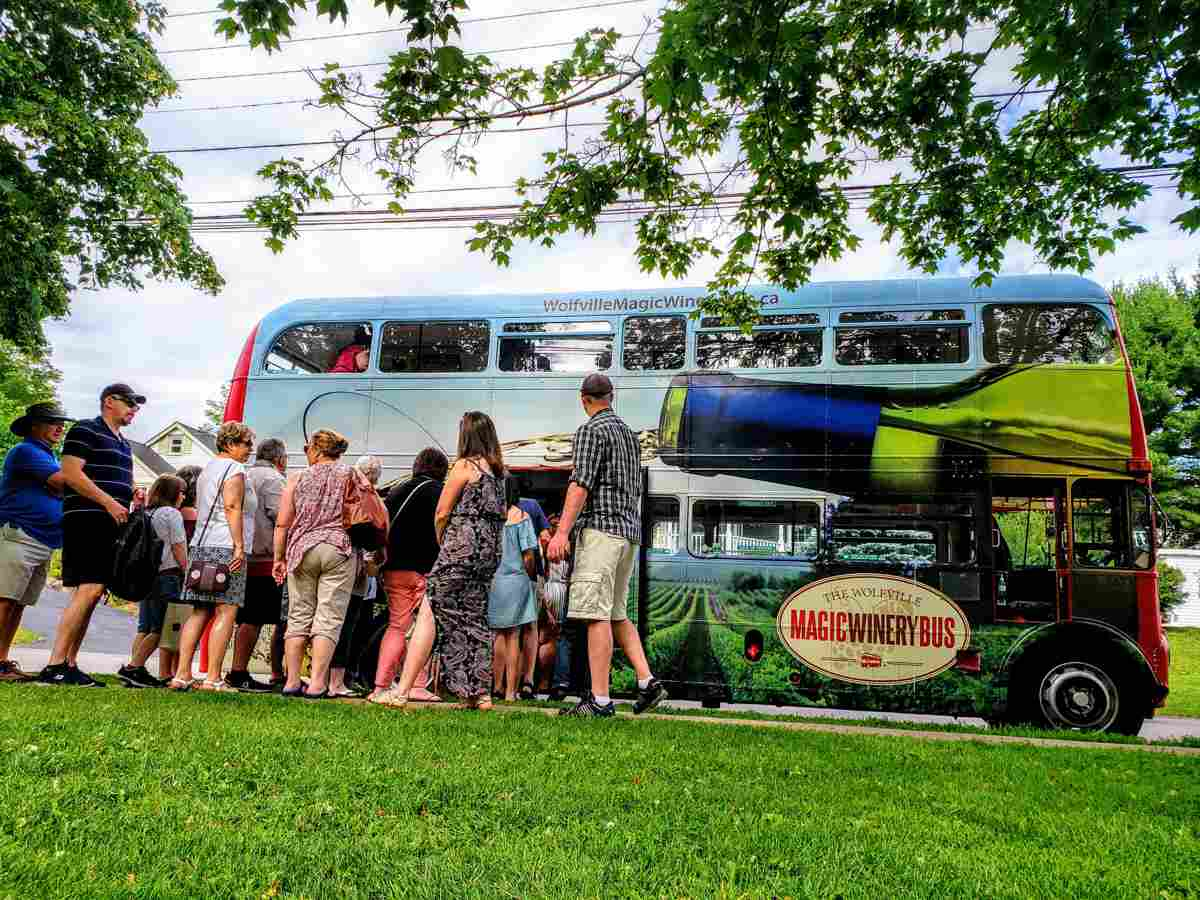 Wolfville Winery Bus Tour