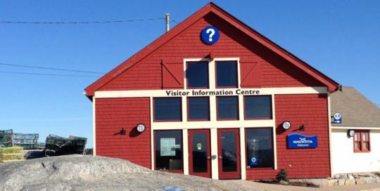 Peggys cove visitor information centre VIC